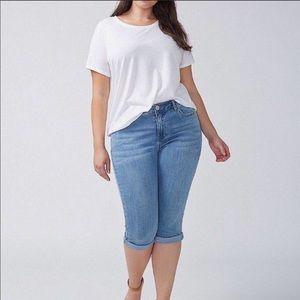Lane Bryant Cropped Jeans sz 18